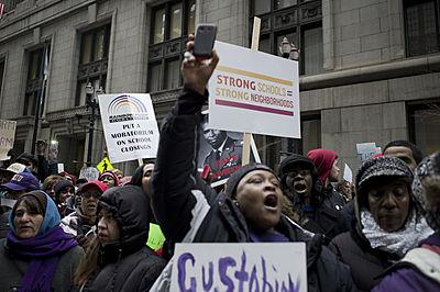 schools; protests