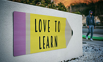sign, love to learn