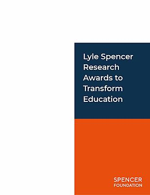 Lyle Spencer Research Awards cover