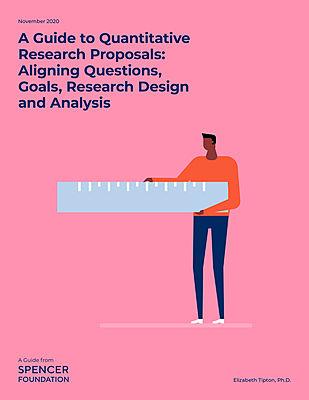 A Guide to Quantitative Research Proposals